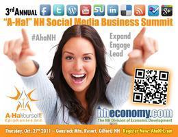 "3rd Annual ""A-Ha!"" NH Social Media Business Summit"