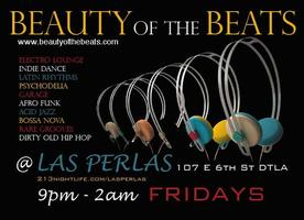 DJ Natasha of Beauty Of The Beats Spins Las Perlas...