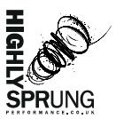 Highly Sprung Performance Co. logo