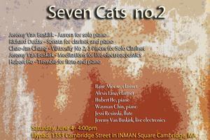 CONCERT - Seven Cats no. 2