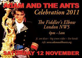 Ant Lib Weekender - Adam & the Ants Celebration &...