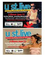 ZODY QUAN PRODUCTIONS PRESENTS U ST. LIVE FEATURING...