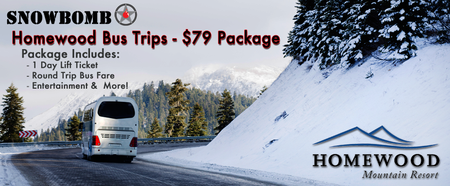 Homewood Bus Trips - Come With a 1-Day Lift Ticket &...