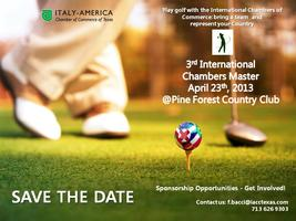 Golf Tournament 2013 - Save the Date