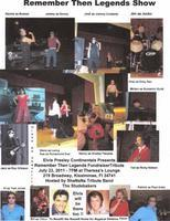 Remember Then Legends Fundraiser. Tribute to Sha na...