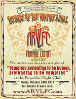 Theatre of the Vampires Ball and Undead Con 2