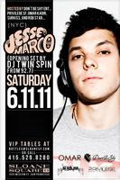 Jesse Marco at Sloane Squared w/ DJ Twin Spin ( 92.7...
