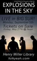 (((folkYEAH))) Presents EXPLOSIONS IN THE SKY in Big...