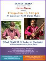 SangeetSabha in association with HarmoNYom presents A...