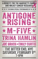 BREAST CANCER FUNDRAISER FEATURING ANTIGONE RISING, M-FIVE...