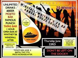 Windfall / Whitney's 23rd Annual Booze Cruise