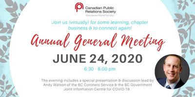 CPRS-VI Annual General Meeting