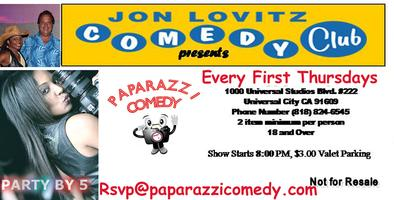 Paparazzi & Variety Show Feb 7th at Jon Lovitz Comedy...