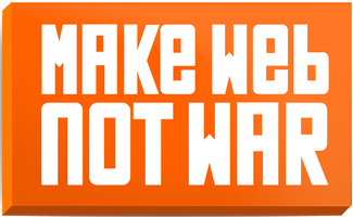 Make Web Not War Community Night on December 1st!