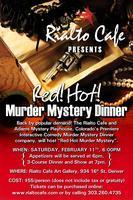 Red Hot Murder Mystery Dinner