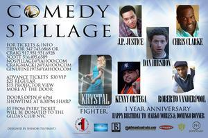 Comedy Spillage-1 Year Anniversary Charity...