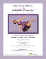 Benita Bike's DanceArt at LVT Library