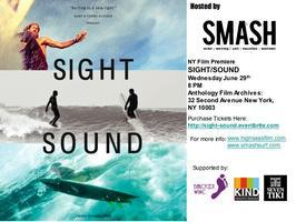 SMASH HOSTS SIGHT/SOUND NY PUBLIC PREMIERE