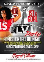 1st and goal super bowl party 49ers vs Ravens free...