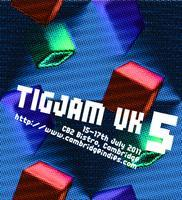 TIGJAM UK 5 - 15th-17th July