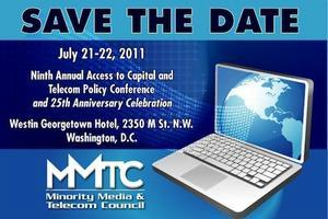 MMTC 25th Anniversary Annual Access to Capital...