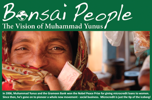 "Movie For Change: ""Bonsai People- The Vision of..."