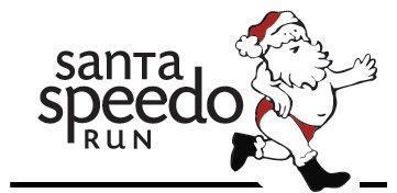 Chicago Santa Speedo Run 2011