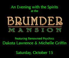 Evening with the Spirits Dinner, Drinks and Q&A with...