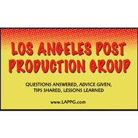 July 13th Los Angeles Post Production Group Meeting -...