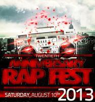 Rap Fest 2013 - Twentieth Anniversary (#rf2013)