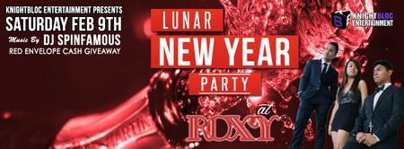 KnightBloc Lunar New Year Party :: February 9 @ Roxy...
