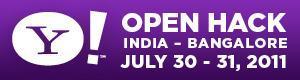 Yahoo! Open Hack India 2011 - Bangalore
