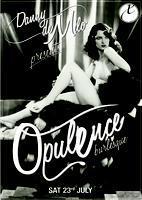 Opulence Burlesque