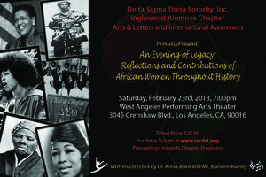 An Evening of Legacy: Reflections and Contributions of...