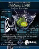 JMWest LIVE! - July 6th - 8pm