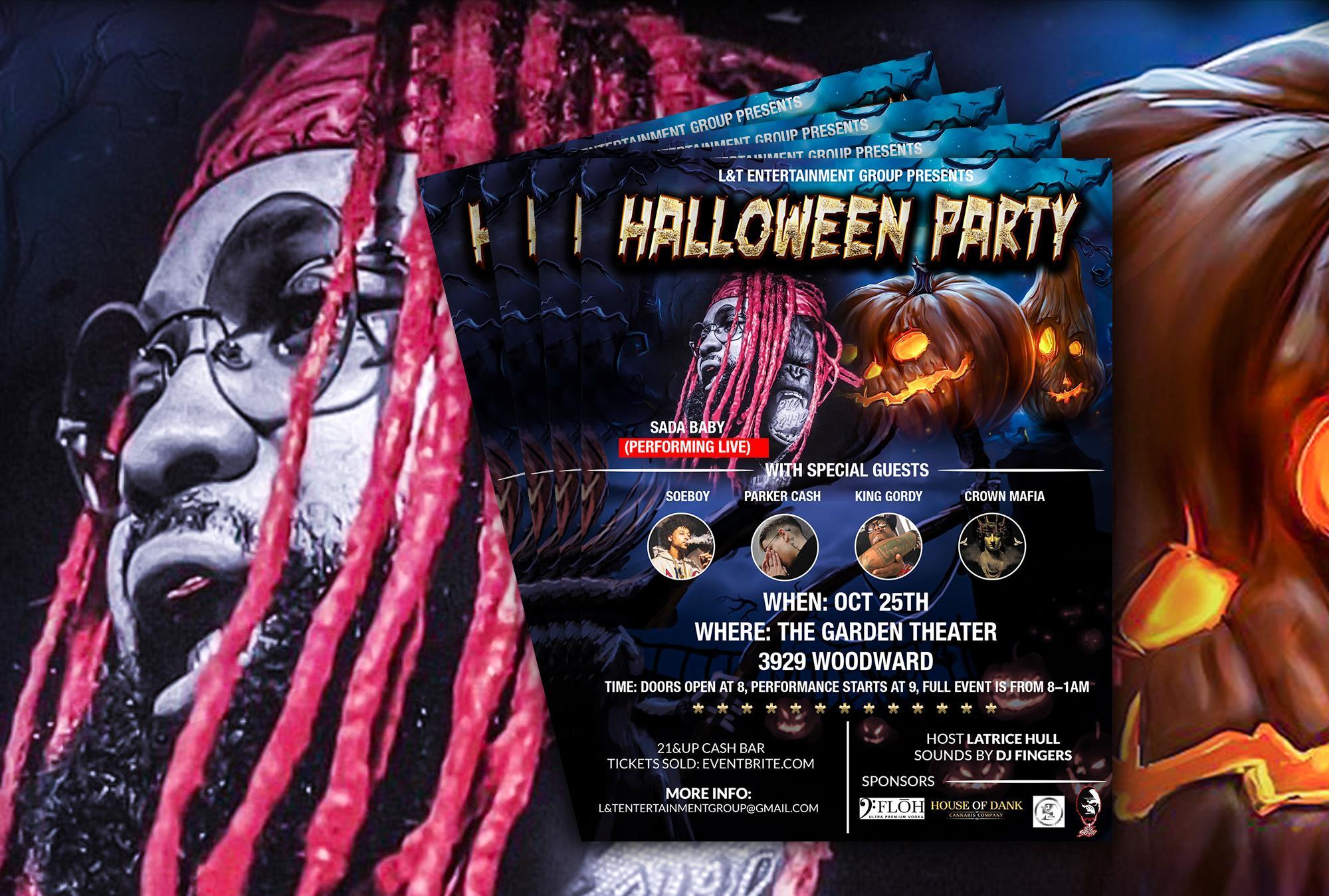 Halloween Party- Sada Baby Live