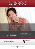 Entrepreneurship Sharing Session with RYU KAWANO...