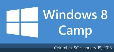 Columbia Windows 8 Camp