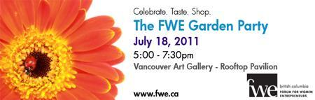 The FWE Garden Party
