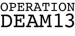DEAM13 Registration (Members Only)