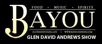 Glen David Andrews at Bayou