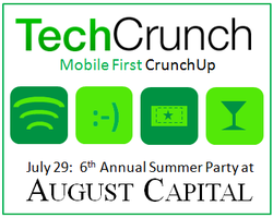 Mobile First CrunchUp and 6th Annual Summer Outing at...