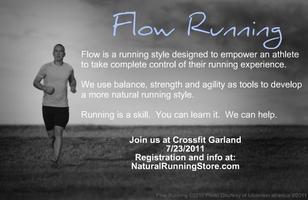 Flow Running Workshop at Crossfit Garland