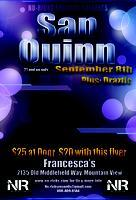 San Quinn and Draztic Live at Francesca's