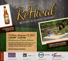 'ReHival™' Featuring Chef Kimberly McCune