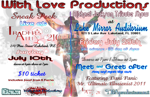 With Love: A Michael Jackson Tribute - July 29th at...