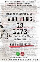 Writing Is Live Festival- The Mechanical Opera Company...