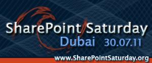 SharePoint Saturday Dubai - July 30, 2011