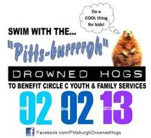 "8th Annual ""Pitts-burrrrgh"" Drowned Hog Swim"