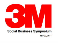 Social Business Symposium - 3M
